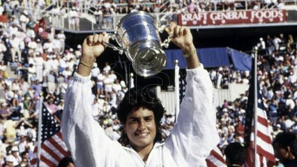 Gabriela Sabatini perdió ante la alemana Steffi Graf en 1991.