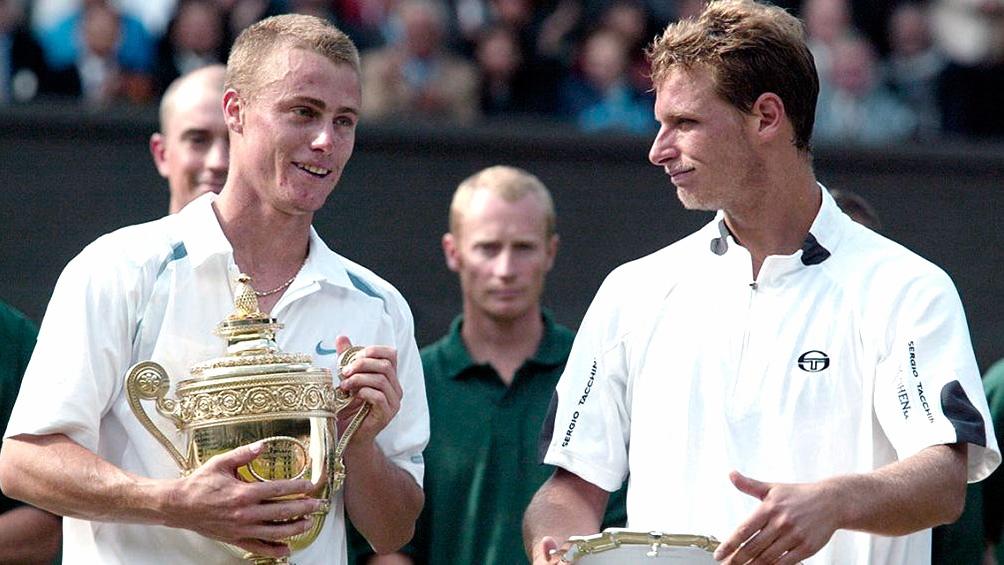 David Nalbandian fue derrotado por el australiano Lleyton Hewitt en la temporada 2002.