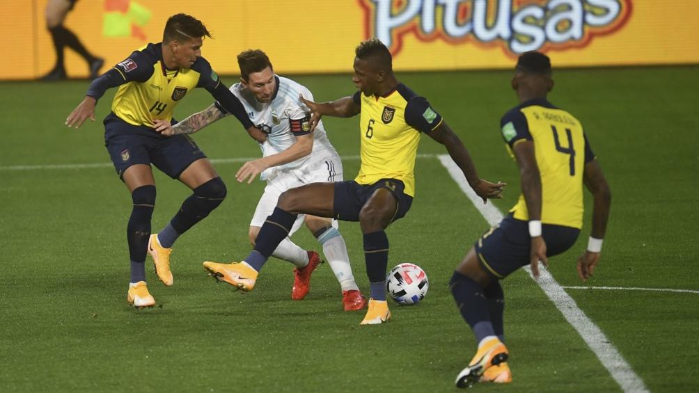 Lionel Messi es el centro de las preocupaciones del seleccionado colombiano, según confesó el mediocampista Gustavo Cuellar.