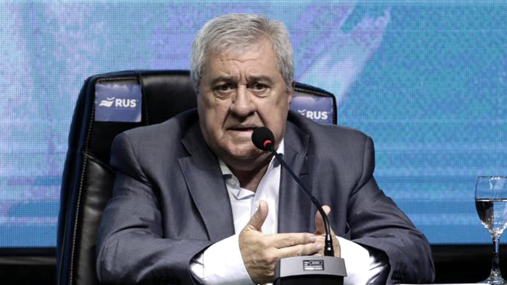 """Jorge Amor Ameal: """"El tema Villa pasó a nuestro departamento jurídico, estamos a la espera, se lo va a citar y no hay sanciones ni nada""""."""