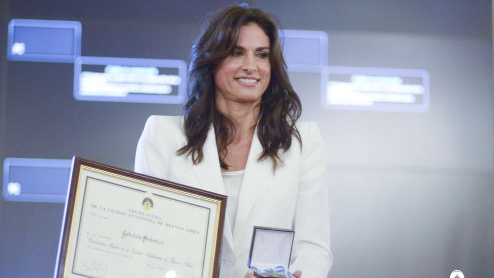 Gabriela Sabatini consiguió la medalla de plata en Seúl 88.