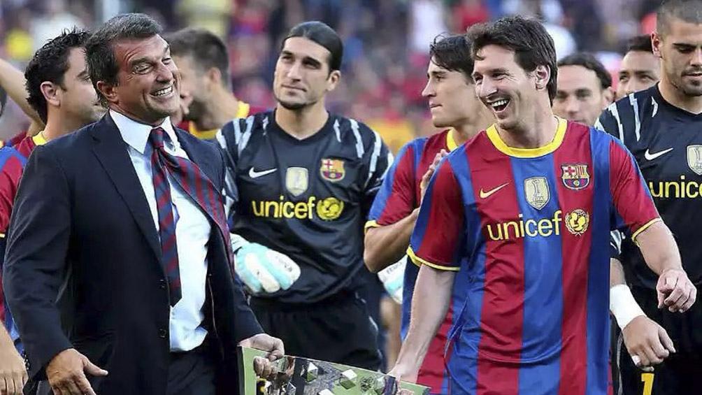 Messi es jugador libre desde el pasado jueves.