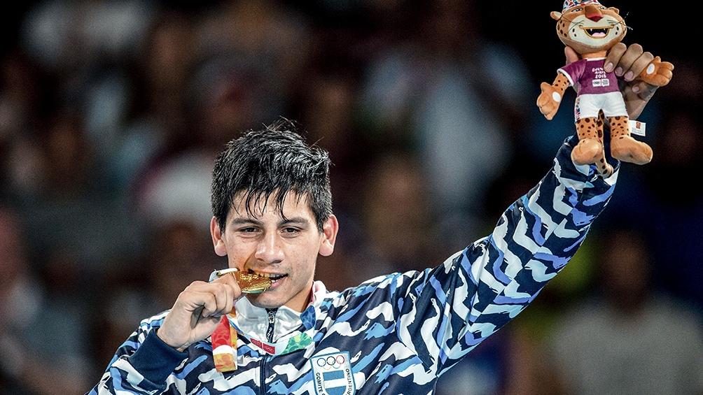 Arregui fue medalla dorada en los Juegos de la Juventud 2018 en Buenos Aires y sueña con Tokio 2020 (foto archivo)