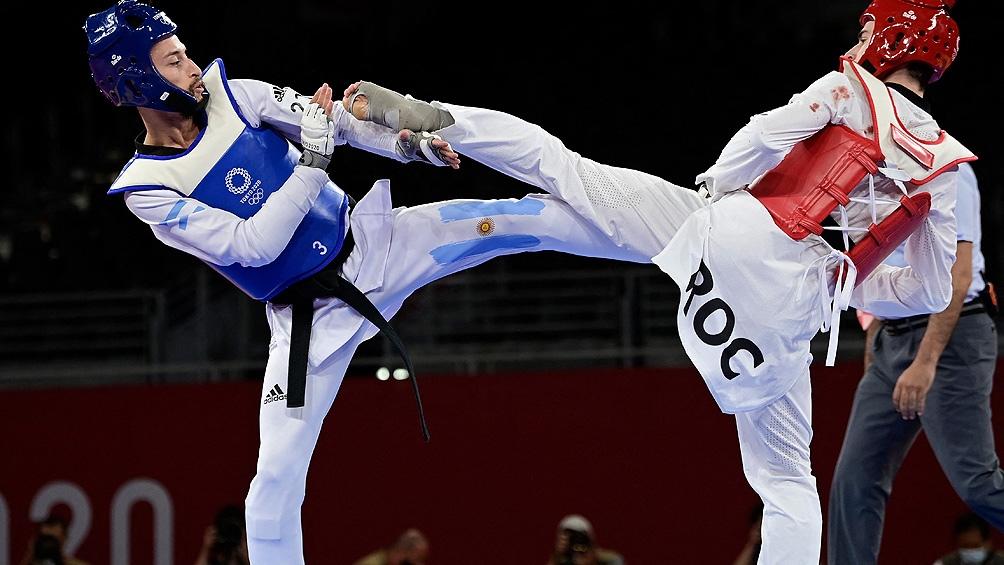 Lucas Guzmán perdió en la pelea por el bronce con el Mijaíl Artamónov por 15-10.
