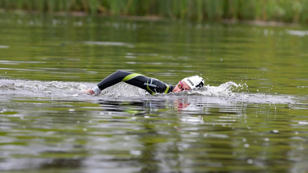 La ganadora de 39 medallas a nivel continental en la natación logró subirse a lo más alto del podio en los Panamericanos Guadalajara 2011.