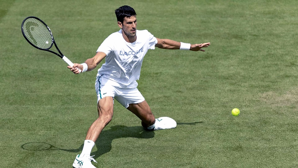 Djokovic fue cinco veces campeón en Wimbledon, en 2011, 2014, 2015, 2018 y 2019.