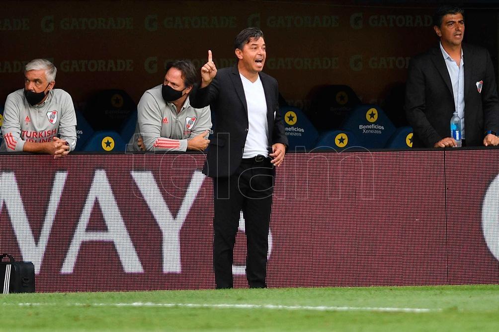 """Es difícil separarse del día a día, pero cuando aparece algo tan importante como la Selección, seduce a cualquier entrenador"""", apuntó Gallardo."""