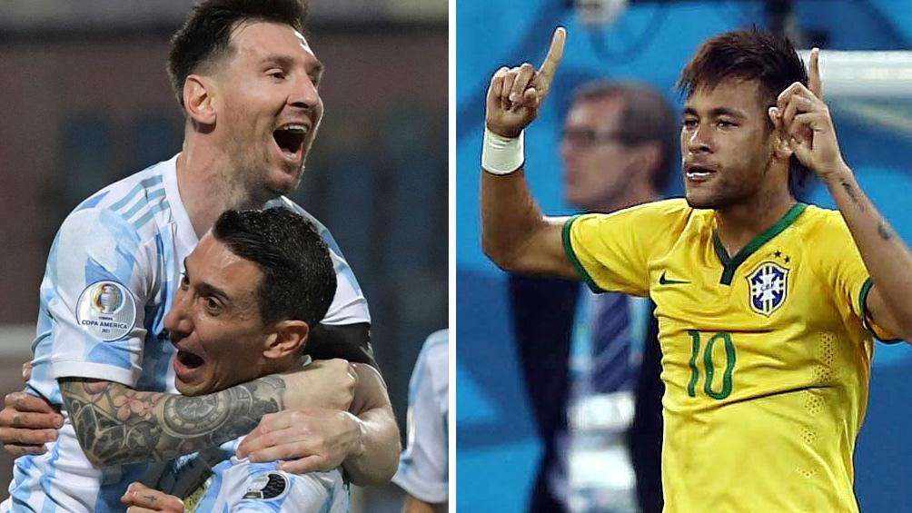 La final de la Copa América entre los seleccionados de Brasil y Argentina se jugará este sábado a las 21.00 en el mítico estadio carioca.