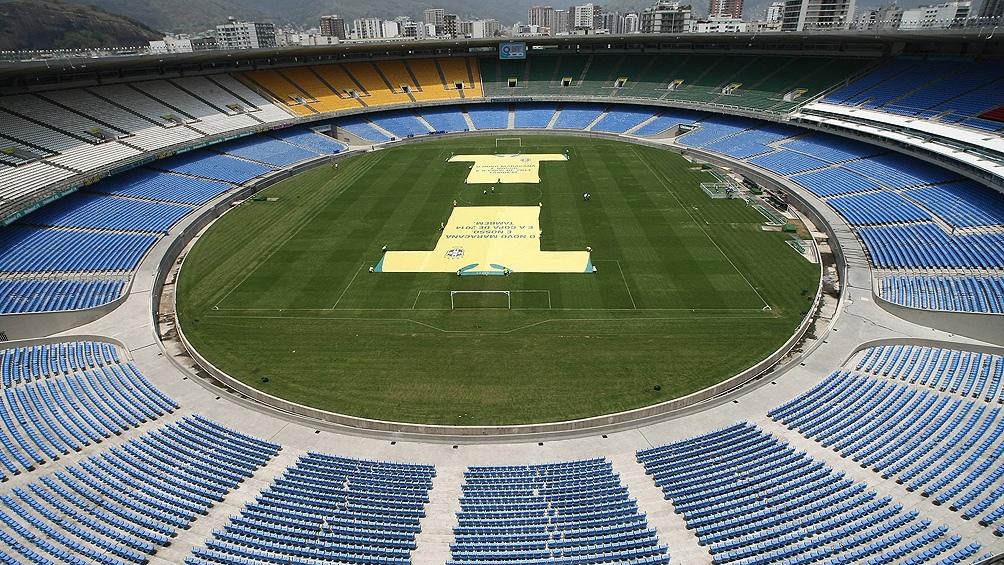 Las credenciales se retirarán en el estadio Maracaná con el previo test de antígenos.