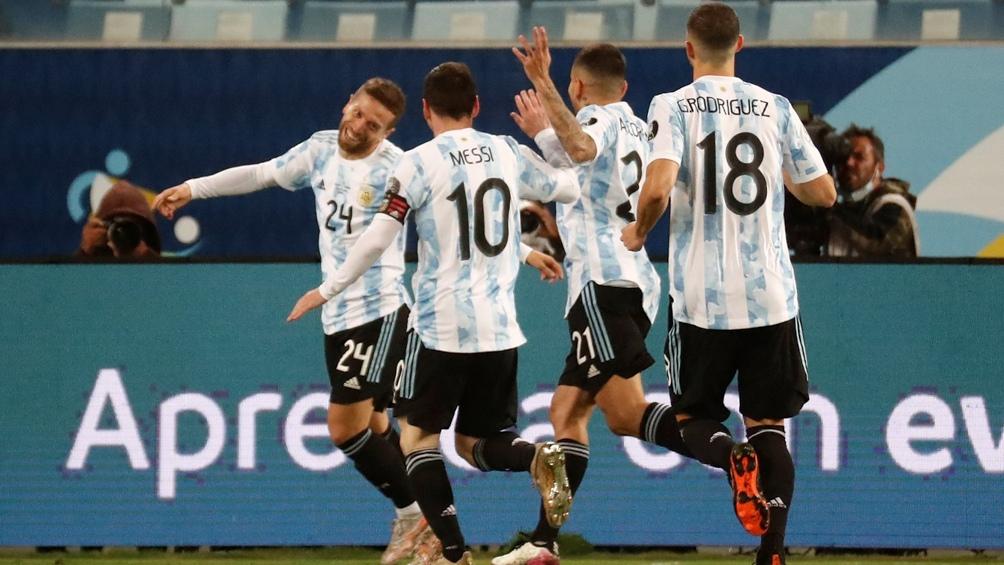 Argentina, el segundo seleccionado más goleador de la Copa América 2021