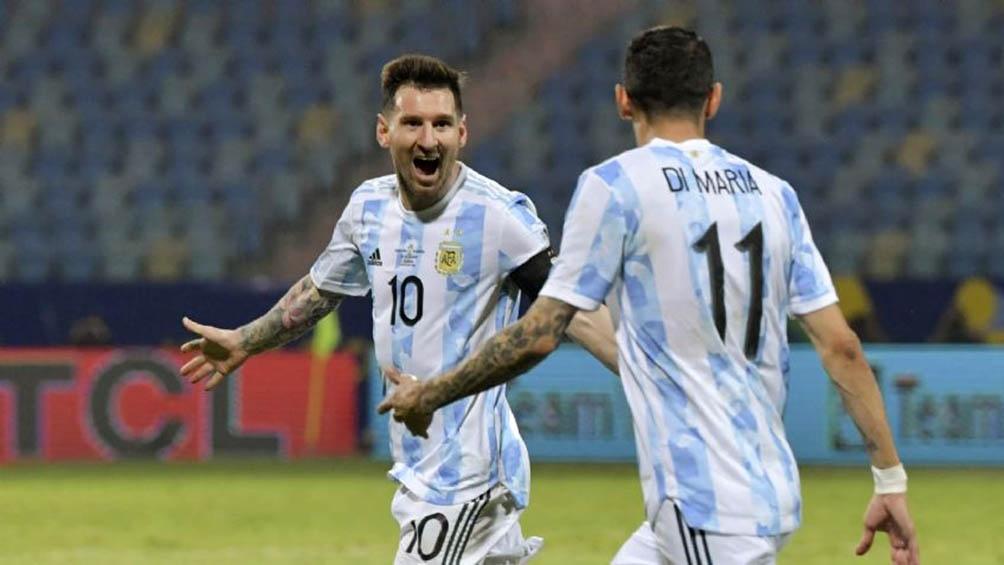 Messi la figura de la Copa América.
