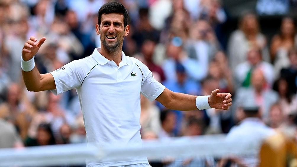 Djokovic irá a japón en busca de lo más alto del podio (Foto AFP)
