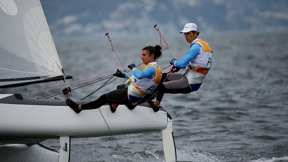 Lange y Carranza Sarioli, defensores de la medalla de oro en clase Macra 17 de Río 2016