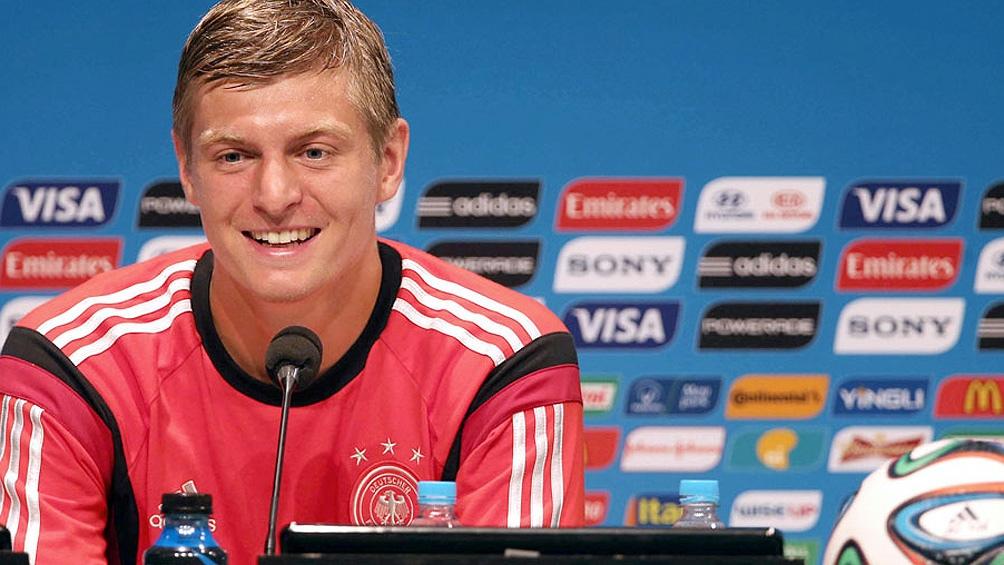 Kroos fue campeón del mundo en Brasil cuando derrótó a la Argentina en la final.