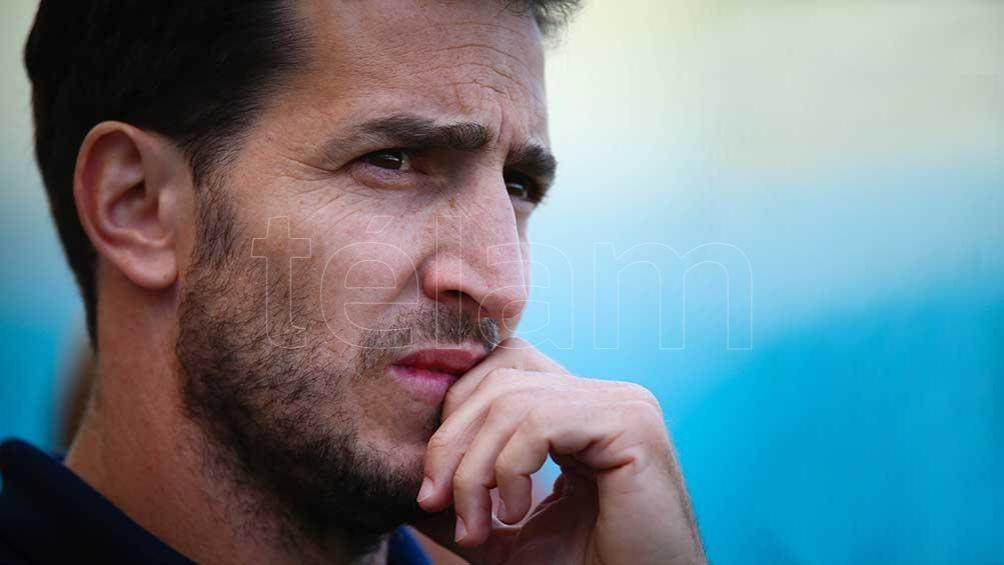 Santiago Gómez Cora, jugador y capitán de los Pumas 7s entre 2000 y 2010 y entrenador desde 2013 a la actualidad. Foto: AFP