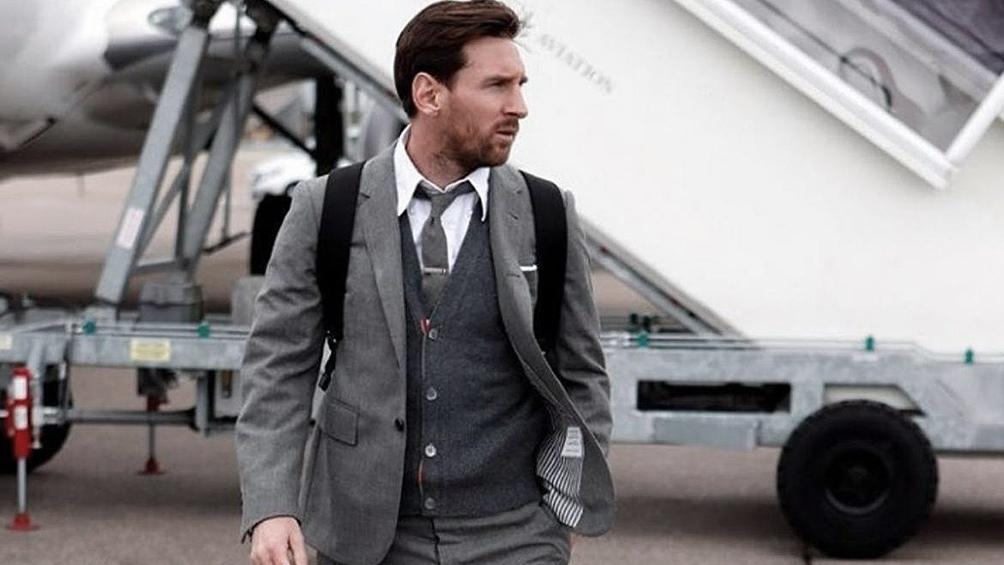 Messi, nuevo jugador del PSG. (Foto: IG).