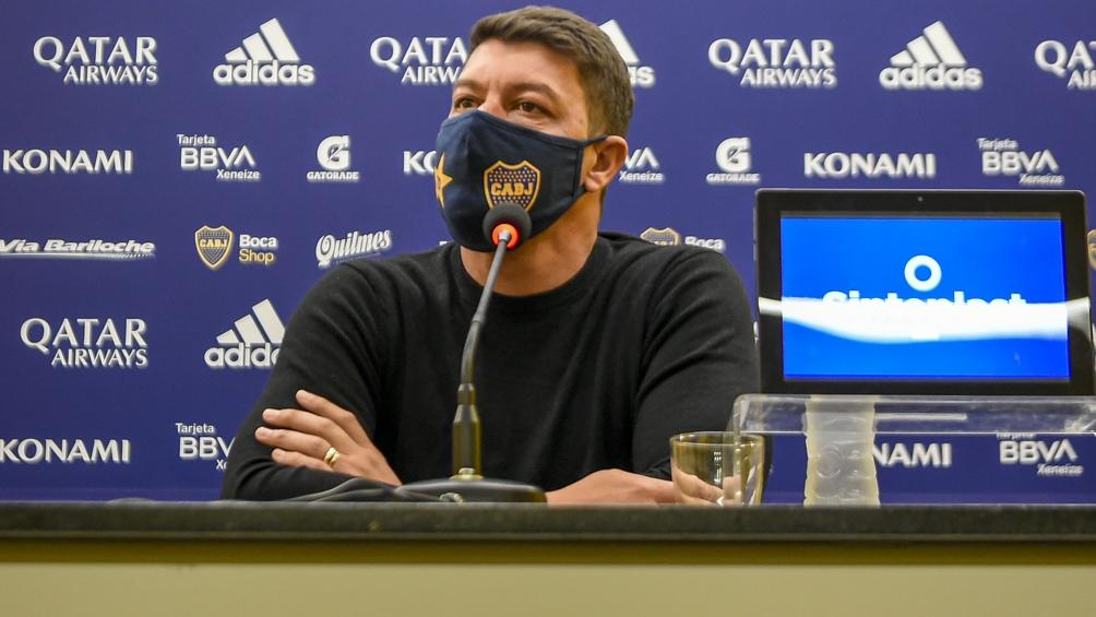 Battaglia reemplazará a Russo y buscará un buen resultado ante Patronato (foto archivo)