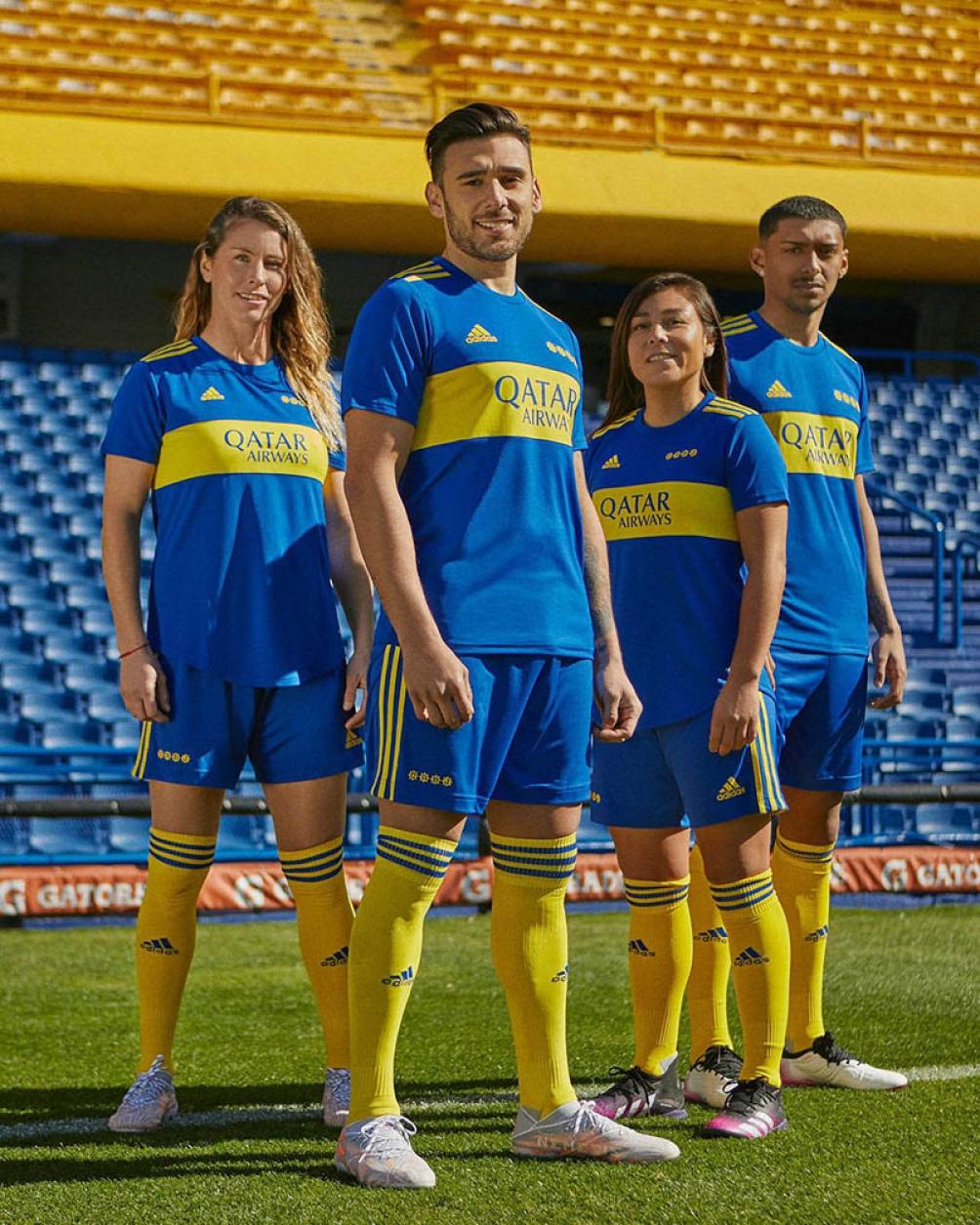El estreno de la camiseta se producirá el domingo próximo en el partido que Boca jugará frente a Estudiantes.