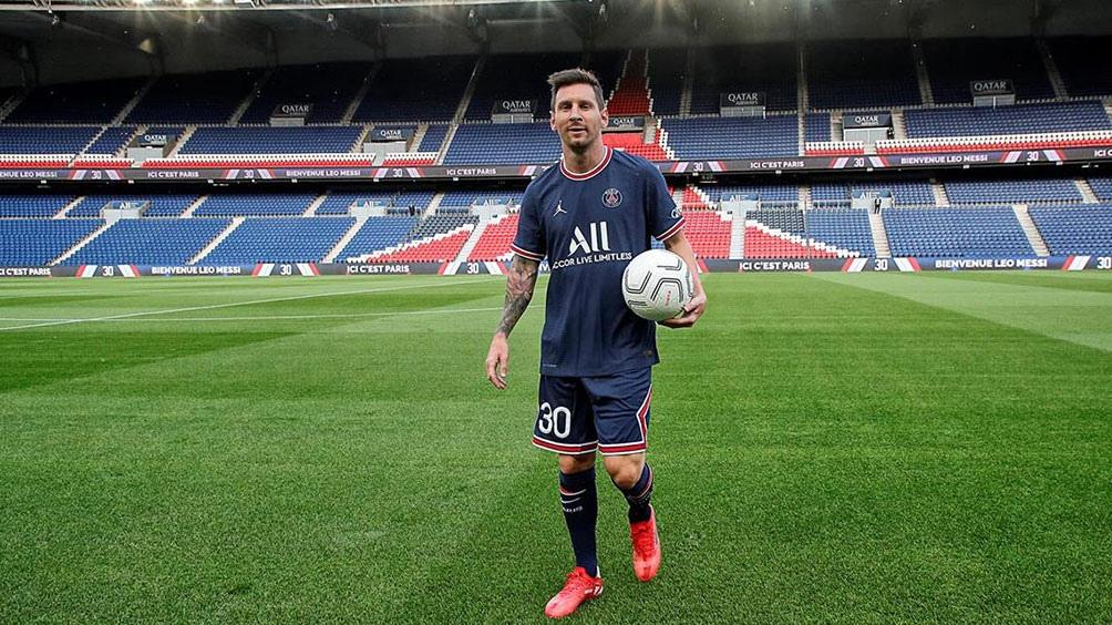 La Liga de Campeones y, en menor medida, la Ligue 1, son los dos objetivos principales del astro rosarino Lionel Messi. Foto: PSG.
