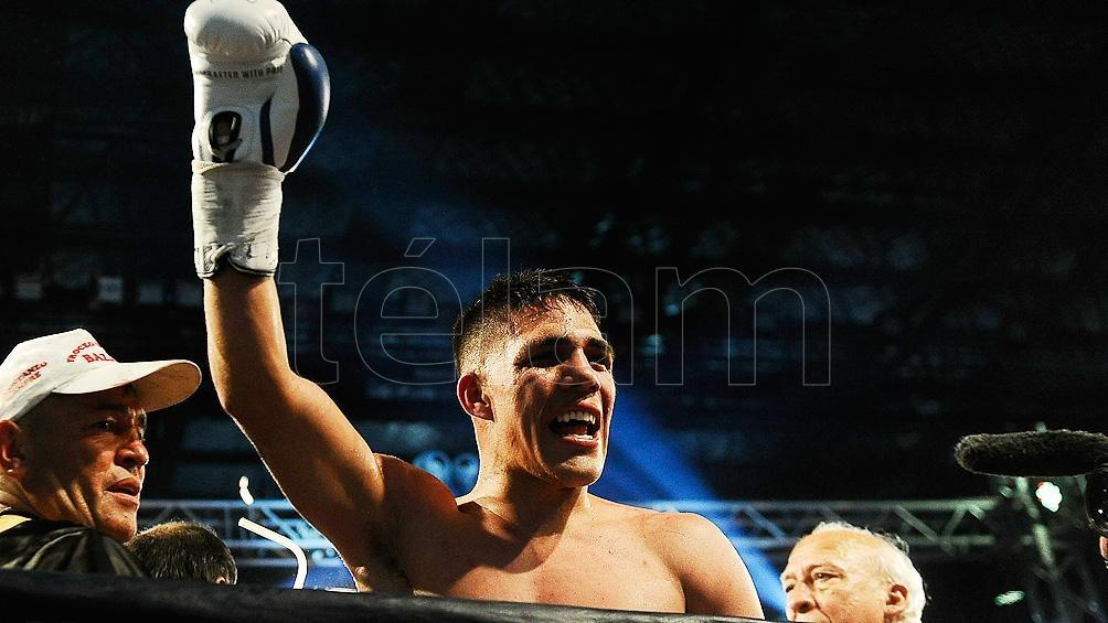 El argentino es el campeón mundial superwelter de la OMB