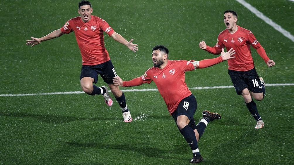 Independiente tiene 11 puntos y viene de ganarle a Racing