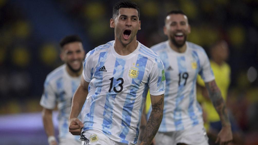 Romero el baluarte de la defensa argentina.