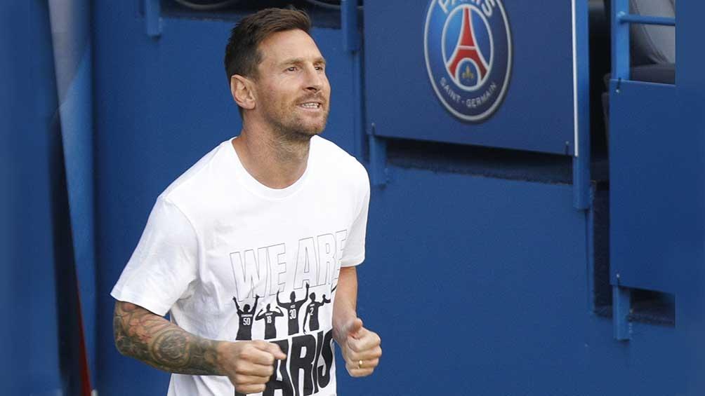 Messi-París: un amor a primera vista.