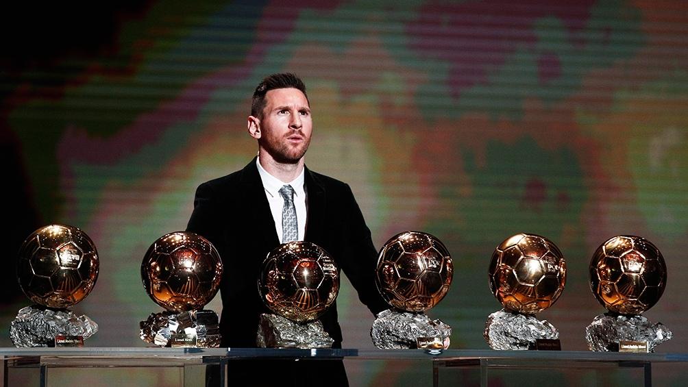 Los Balones de Oro.