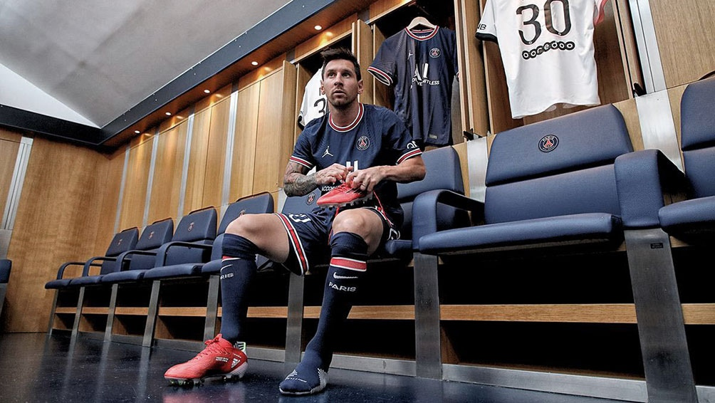 Lionel Messi escribió este miércoles su primer posteo en redes sociales desde su firma con París Saint Germain. Foto: PSG.
