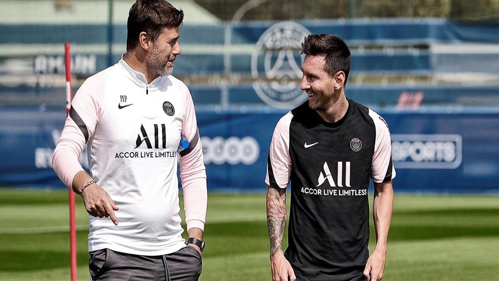 Pochettino quedó conforme con el debut de Messi.
