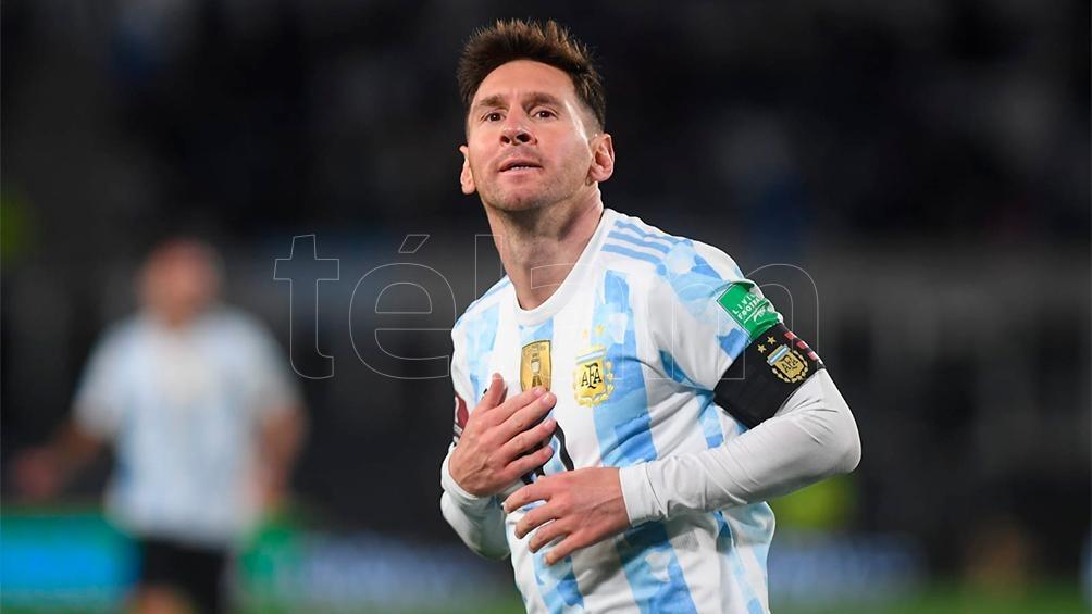 Messi anotó en lo que va de su carrera en la Selección 79 goles en Eliminatorias Foto: Ramiro Gómez