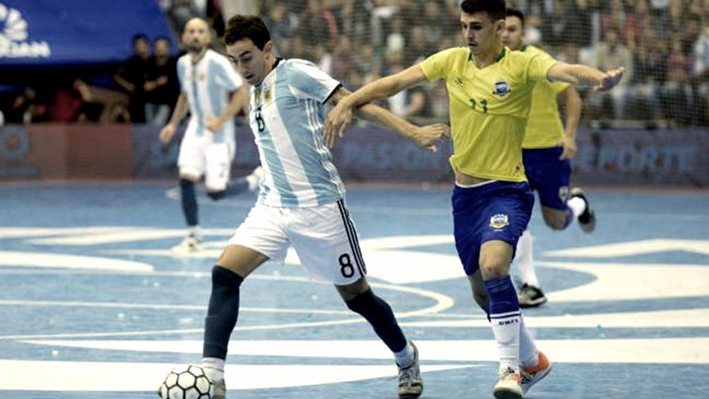 Brasil-Argentina, un clásico que se reedita en cancha chica.
